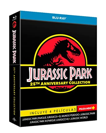 Pack: Parque Jurásico 1-4 - Edición Especial Limitada 25 ...