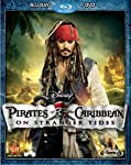 Cover Image for 'Pirates of the Caribbean: On Stranger Tides (Two-Disc Blu-ray / DVD Combo in Blu-ray Packaging)'