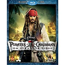 Pirates of the Caribbean: On Stranger Tides (Two-Disc Blu-ray / DVD Combo in Blu-ray Packaging) (2011)