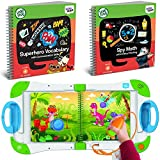 LeapFrog LeapStart Interactive Learning System Kindergarten and 1st Grade for Kids Ages 5-7 Level 4 Superhero Vocabulary and Communication Skills & Spy Math and Critical Thinking Fun Activity Bundle