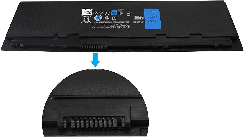 FLYTEN New 7.4V 45WH GHT4X Battery for Dell Latitude E7250,Latitude E7240 Series,Fit P/N GVD76 HJ8KP WD52H VFV59 451-BBFW 451-BBFX