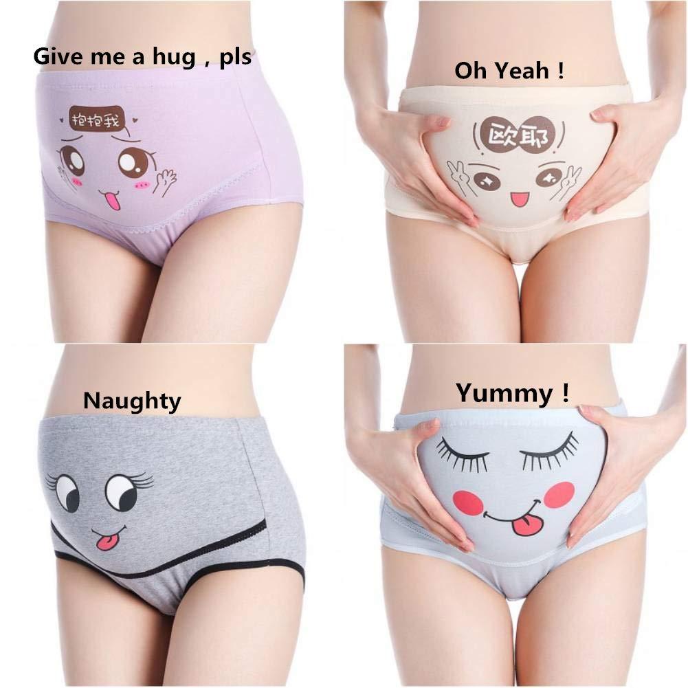353da763cef Maternity Knickers Over Bump Plus Size(L-3XL)