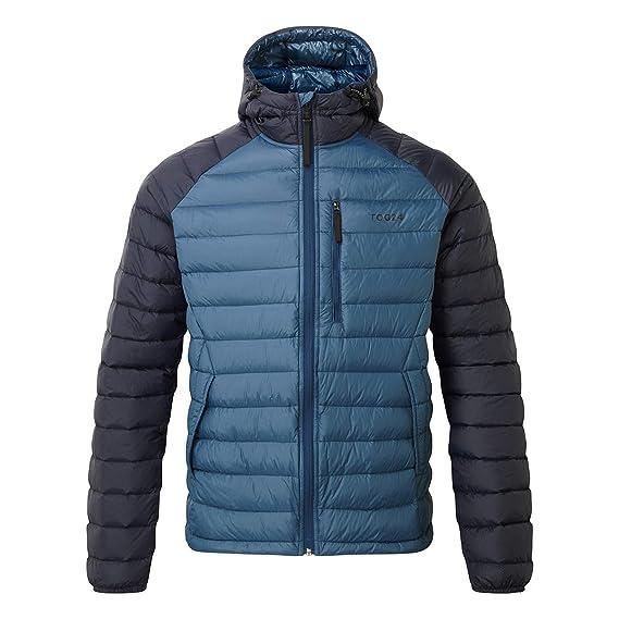 f3922d5c0 Down Jacket for Men TOG24 Hooded 800 Fill Coat Lightweight Men's Hiking  Jacket Breathable Puffer