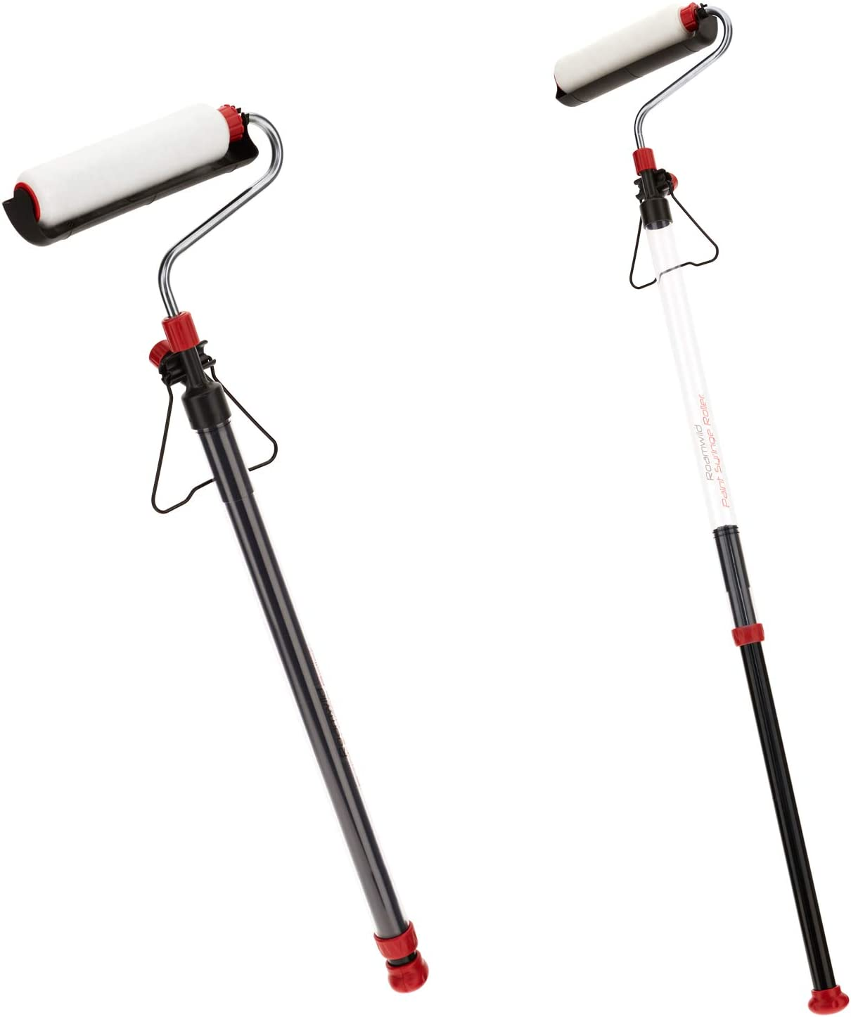 Long Reach Extendable Paint Syringe Roller Easy Decorating for Interior and Exterior Walls /& Ceilings