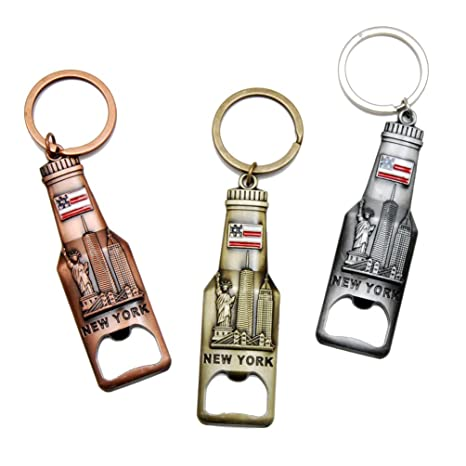 Amazon.com: Nueva York NY de Nueva York Llavero metal Key ...