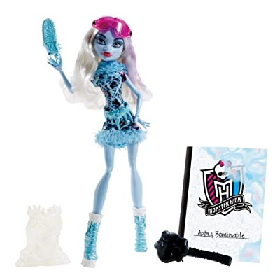 Monster High Art Class Abbey Bominable Doll: Toys & Games