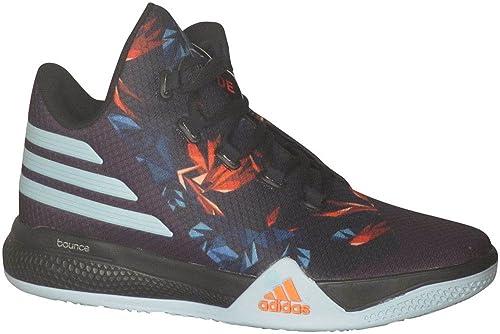 huge discount 617a8 84236 adidas Light Em Up 2.0 Mens Basketball Shoe 8.5 Black Clear Green Super  Orange