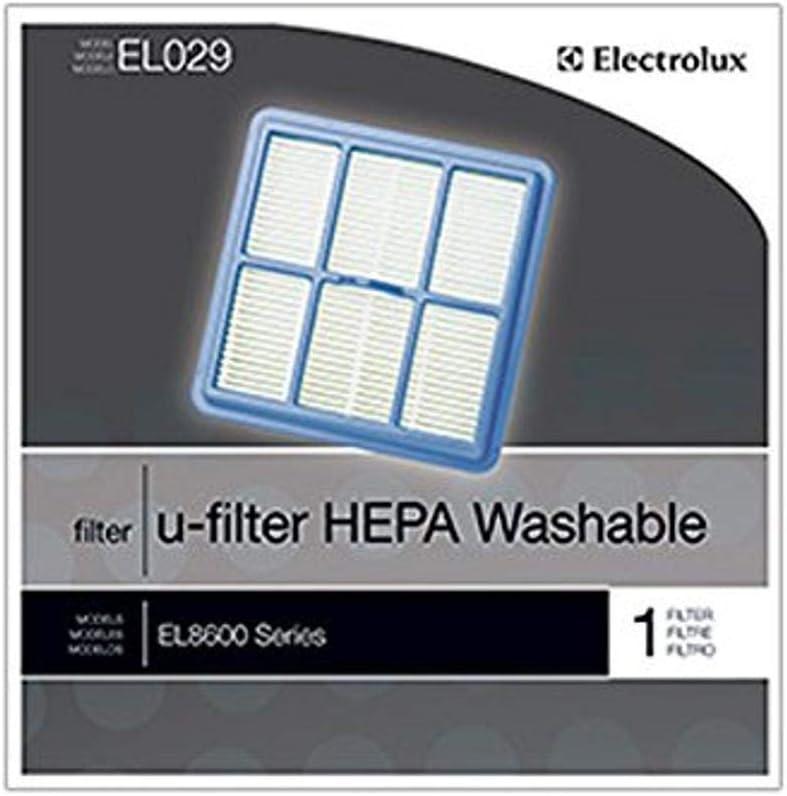 Electrolux EL029A-4, HEPA Washable Nimble U-Filter 1Pk