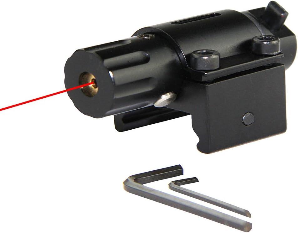 Tactical Hunting Super Mini Red Dot Laser Sight for Pistol Handgun with 20mm Rail Class Type: Class IIIA