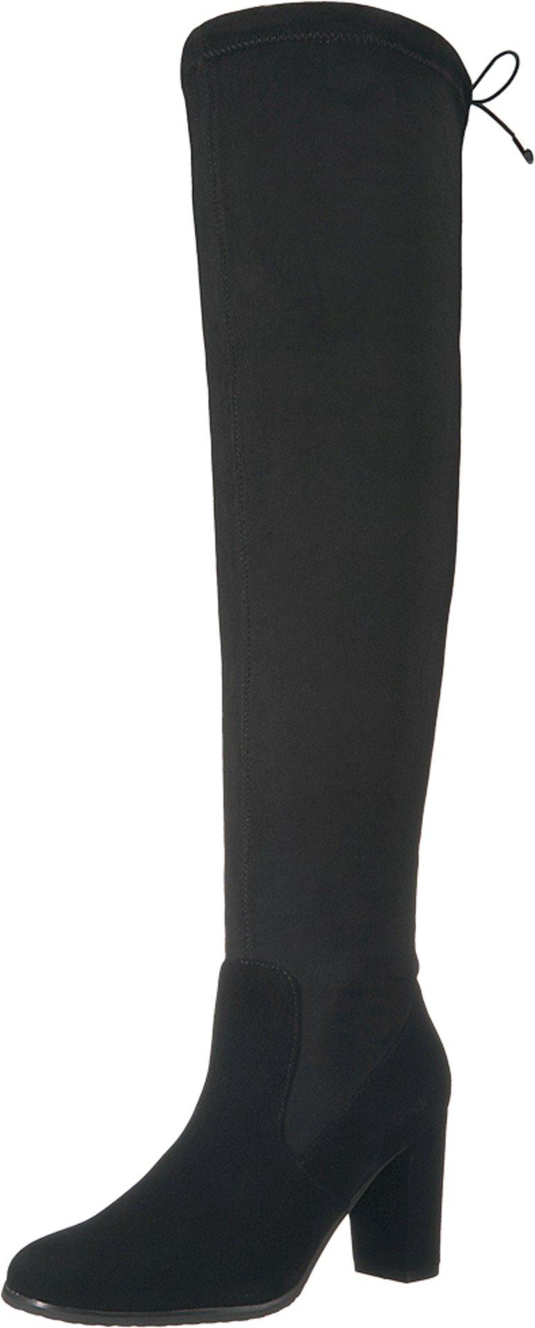 Blondo Women's Kali Waterproof Winter Boot, Black Suede, 9.5 M US