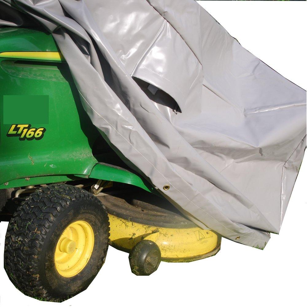 250 x 115 x 105 Cm-housse de protection garage housse de protection pour tondeuse de jardin (matériau 750 g/m²) Becker Merchandise