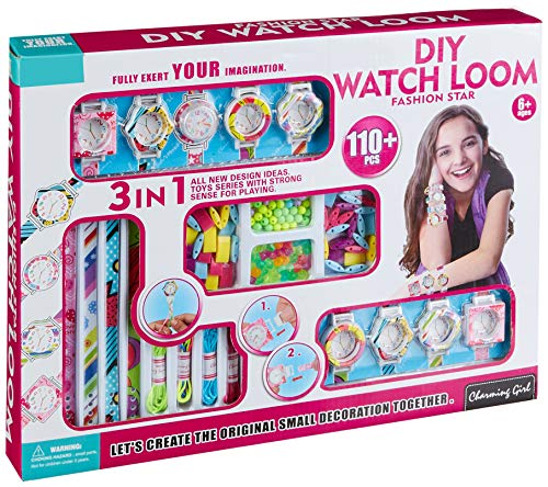 Do It Yourself Costume Ideas For Adults (WolVol Do-It-Yourself Watch - All in One Jewelry Making Activity Set - Easy to Use Create Your Own Design Bracelet & Watch for Kids &)