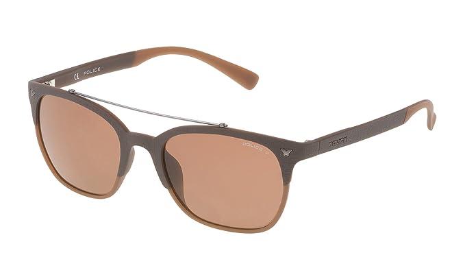 Amazon.com: Police SPL161M5394CP - Gafas de sol para hombre ...