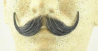 Grey Handlebar Moustache MyPartyShirt MPS-14467-S