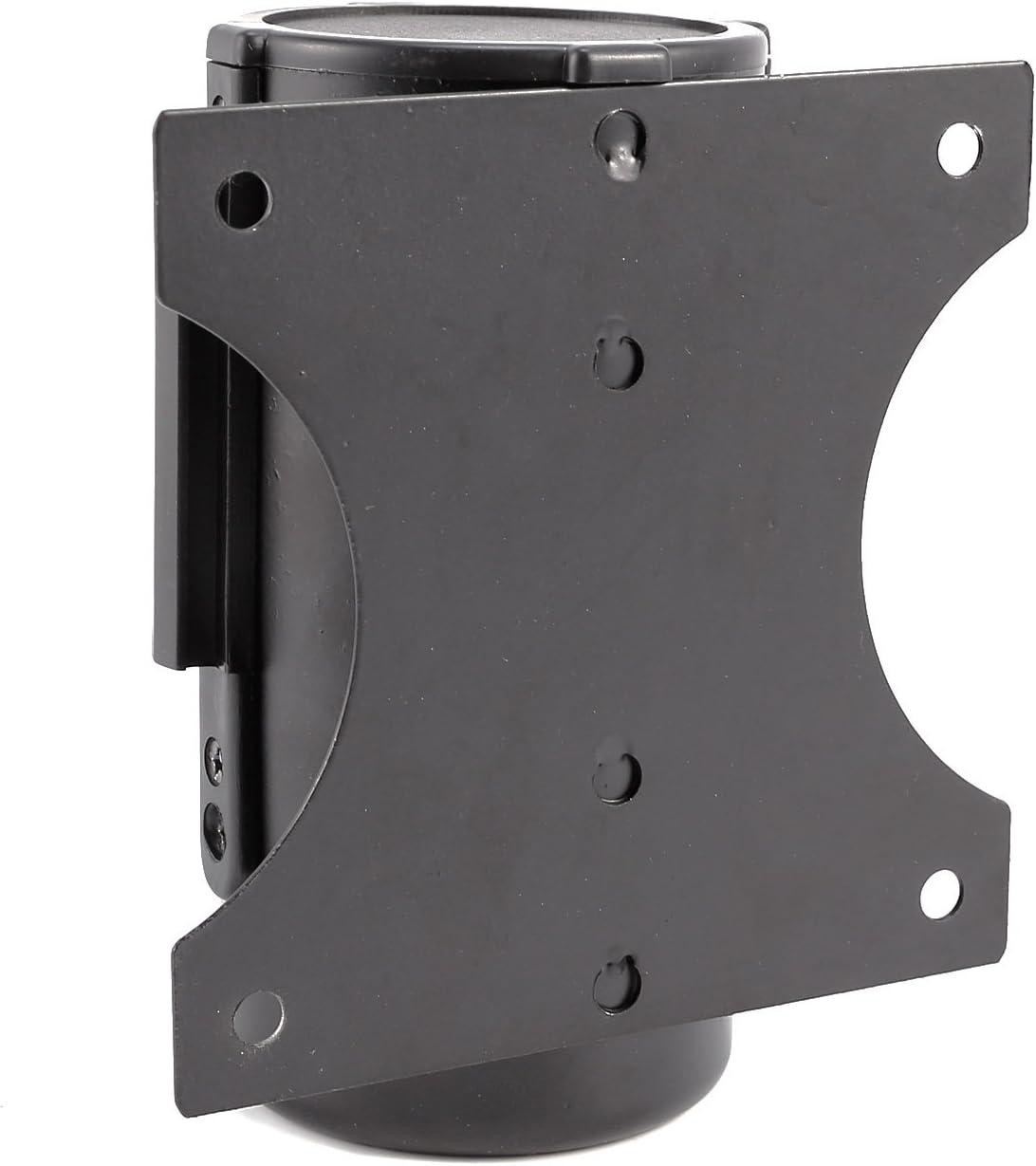 Nastro retrattile da 2m//3m con supporto in acciaio INOX//Metallo barriera per code rosso montaggio a parete
