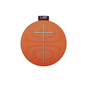 UE Roll 2 - Altavoz Bluetooth ultraportátil (Impermeable, Resistente a Golpes, con Flotador), Color Naranja: Amazon.es: Electrónica
