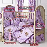 Realtree All Purpose Lavender 7 Pc Baby Crib Set – Gift Set, Save By Bundling! Review
