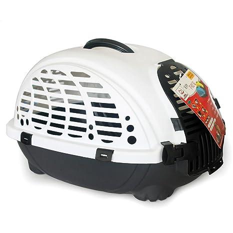 CTZLL Caja transportín envío jaulas para gatos caja perros jaulas de viaje , white