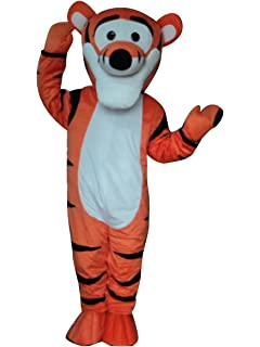 8fc5b2d1269d Amazon.com  Winnie The Pooh Bear Adult Mascot Costume Cosplay Fancy ...