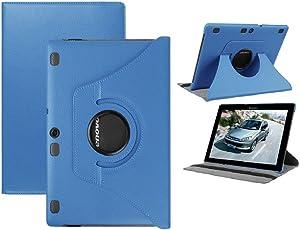 Lenovo Tab 2 10.1 inch Case,Lenovo Tab3 10inch Case,Lenovo Tab2 A10-30 10.1 Case,Lenovo Tab 3 Business Case,Lenovo Tab3 10 Case Kids,Premium PU Leather 360 Degree Rotating Case for Lenovo Tab3 10