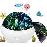Luz de Nocturna Proyector Estrella Bebé Proyector Lámpara, 360 ...