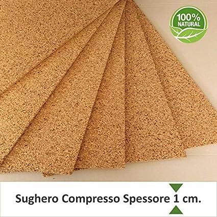 Pannelli Sughero 100x50x1cm Supercompresso Pacco 20 Pz Per