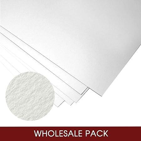 Fabriano Unica - Papel para manualidades - Perfecto para grabados - 50% algodón - 250 gsm - 50 x 70 cm - Blanco - 180 hojas: Amazon.es: Hogar