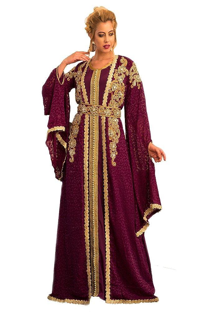 Kolkozy Fashion Women's Jacket Size Style Size Mgoldccan Wedding Caftan