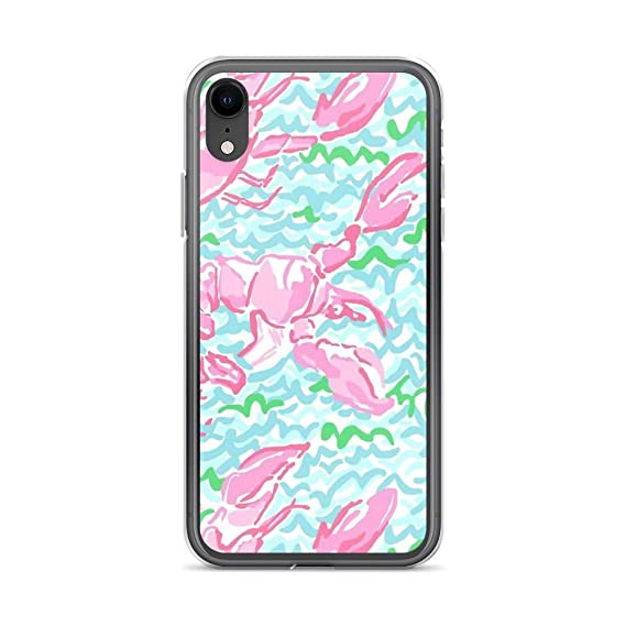 official photos c393c 963ef Amazon.com: iPhone X/XS Pure Clear Case Cases Cover Lilly Pulitzer ...