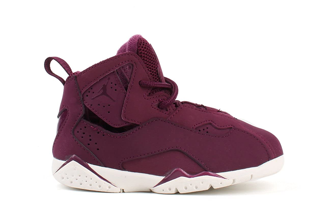 info for 87d6e 1aefe Jordan True Flight BT Toddlers Shoes Bordeaux/Bordeaux/Sail 343797-625 (7 M  US)