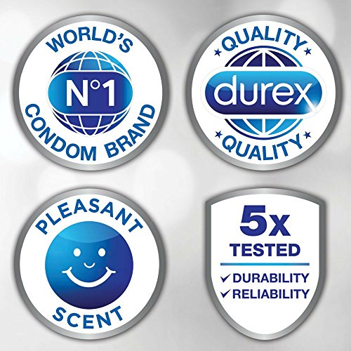 K-Y 5 oz Liquid Lubricant and Durex 24 Count Extra Sensitive Natural Latex Condoms (Ultra Fine & Extra Lubricated) 1 ea