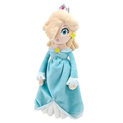 "Sanei Super Mario All Star Collection AC36 Rosalina Stuffed Plush, 10.5"": Toys & Games"