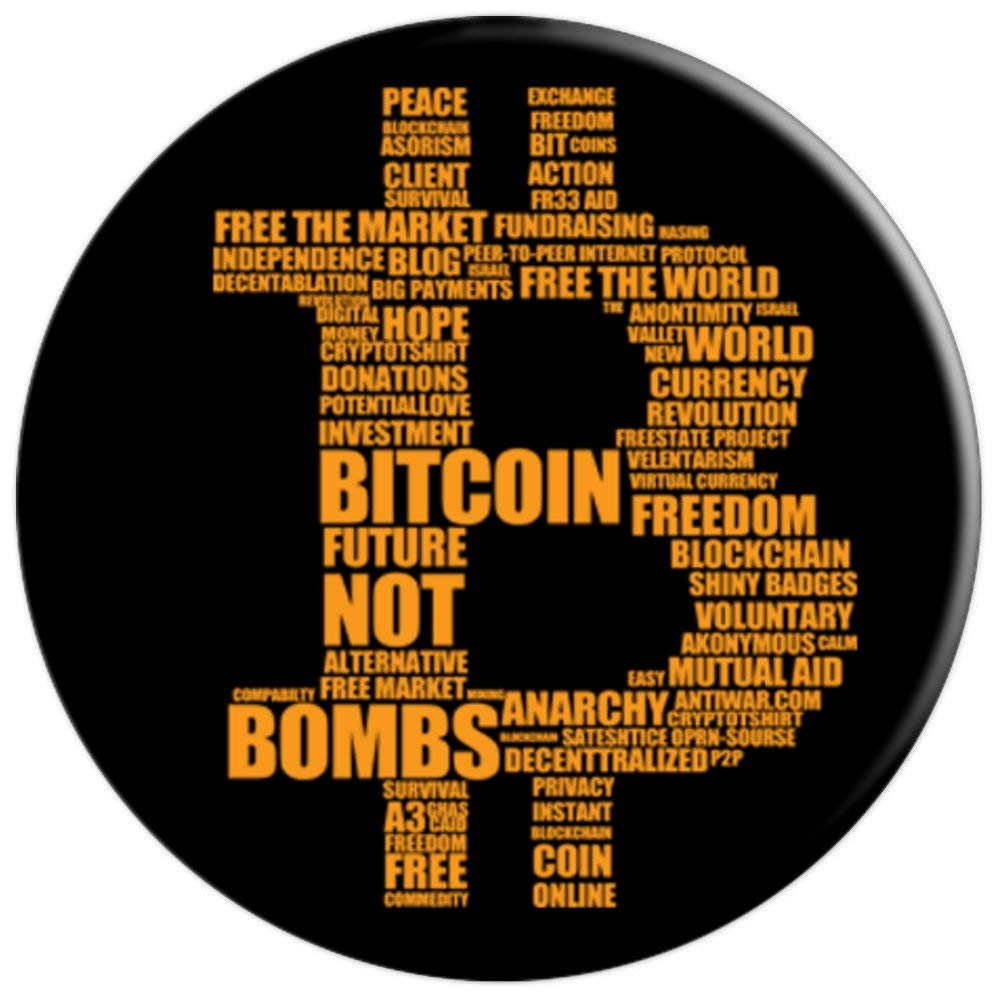 Amazon com: The Bitcoin original Btc crypto Gift Popsocket
