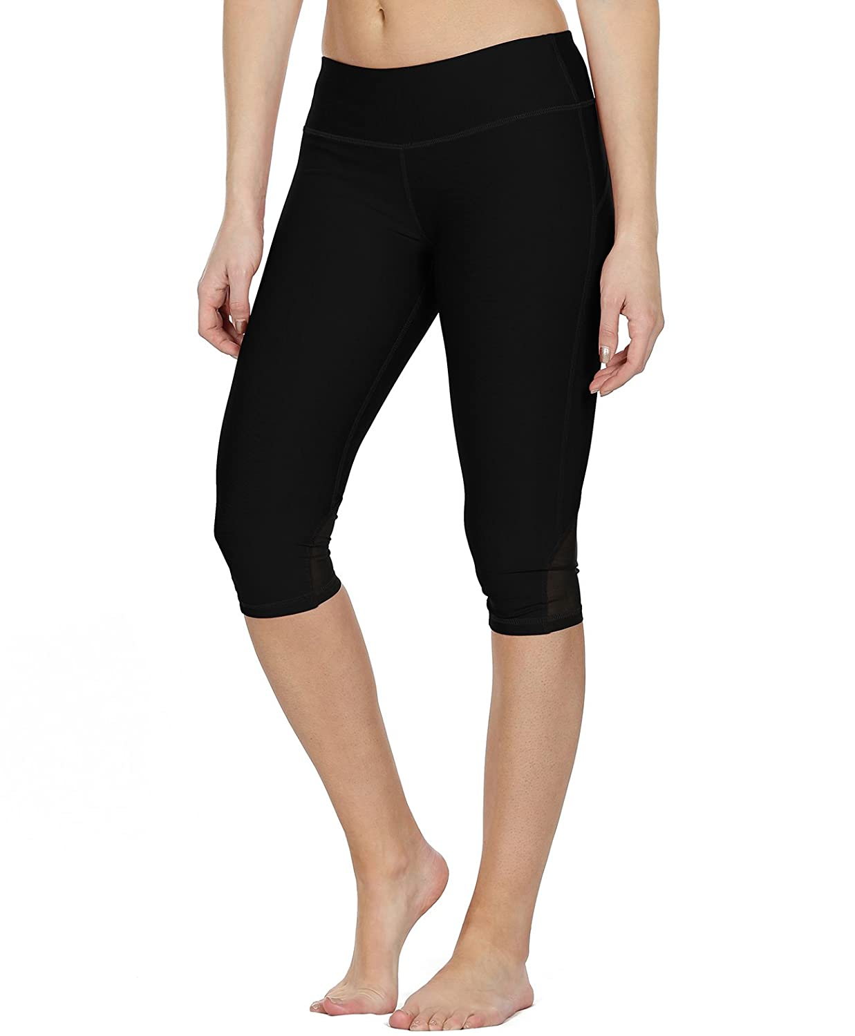 1e2388266814d Amazon.com: icyzone Yoga Pants for Women - High Waisted Workout Leggings,  Activewear Athletic Capris Exercise Tights: Clothing