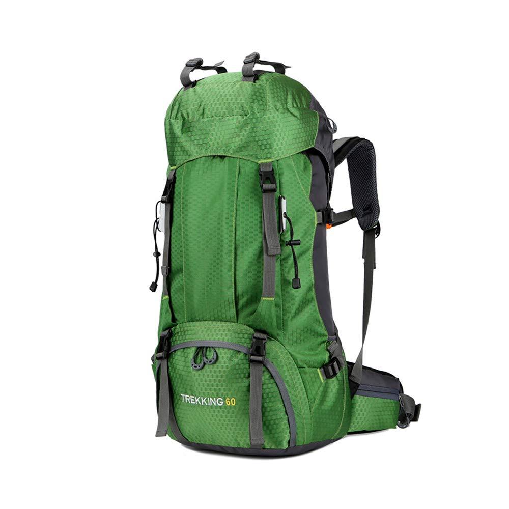 vert  CXJC Sac à Dos De Randonnée Pédestre Nylon Water Resistang Randonnée Camping voyage Alpinisme pour Les Voyages Trekking Voyage Sac à Dos,bleu