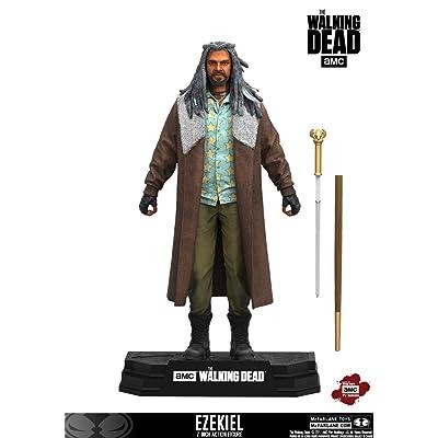 McFarlane Toys The Walking Dead TV Ezekiel Collectible Action Figure: Toys & Games