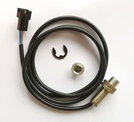 Goldenapplestore Sensorkabel Wire Magnet Für Lcd Digital Kilometerzähler Tachometer Geschwindigkeitsmesser Motorrad Auto