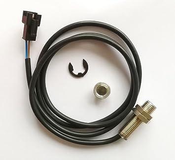 TOOGOO Sensor Cable for Motorcycle Digital ATV Odometer Speedometer Tachometer