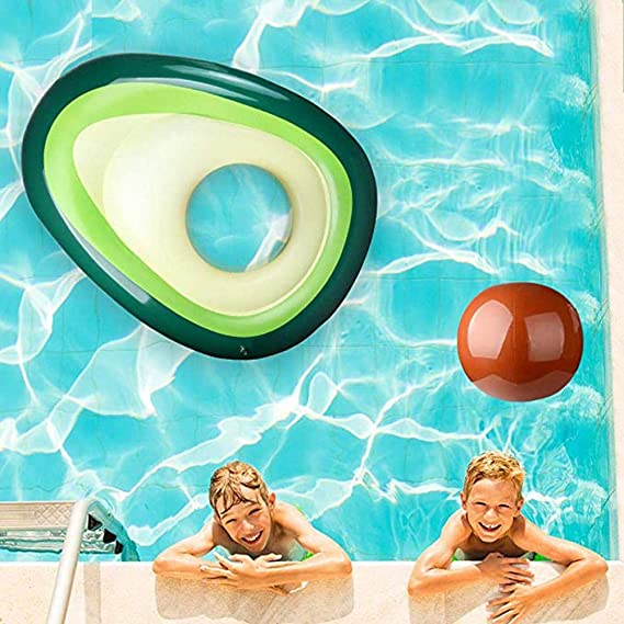 Amazon.com: Longshow flotador hinchable para piscina, playa ...