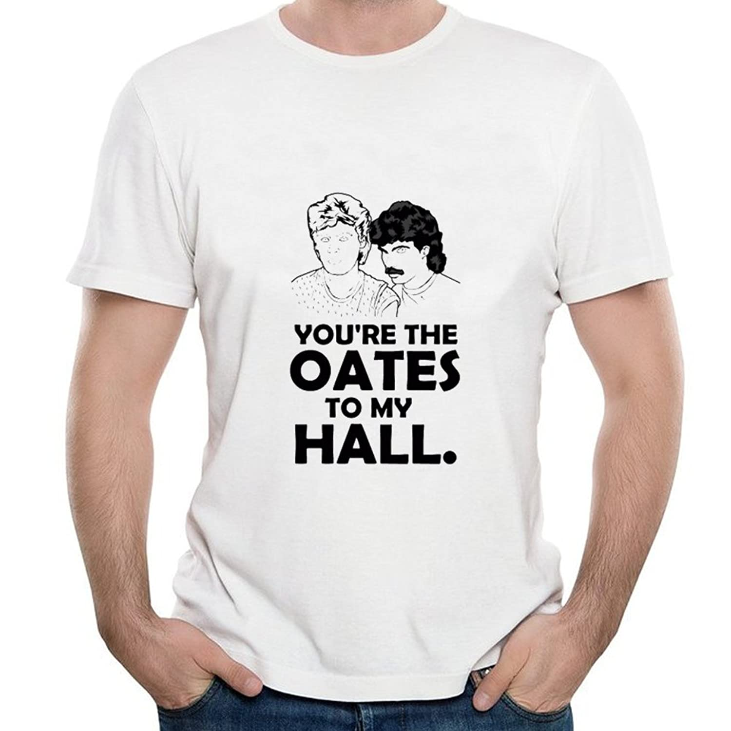 YOU'RE THE OATES TO MY HALL Short shirts for Mens