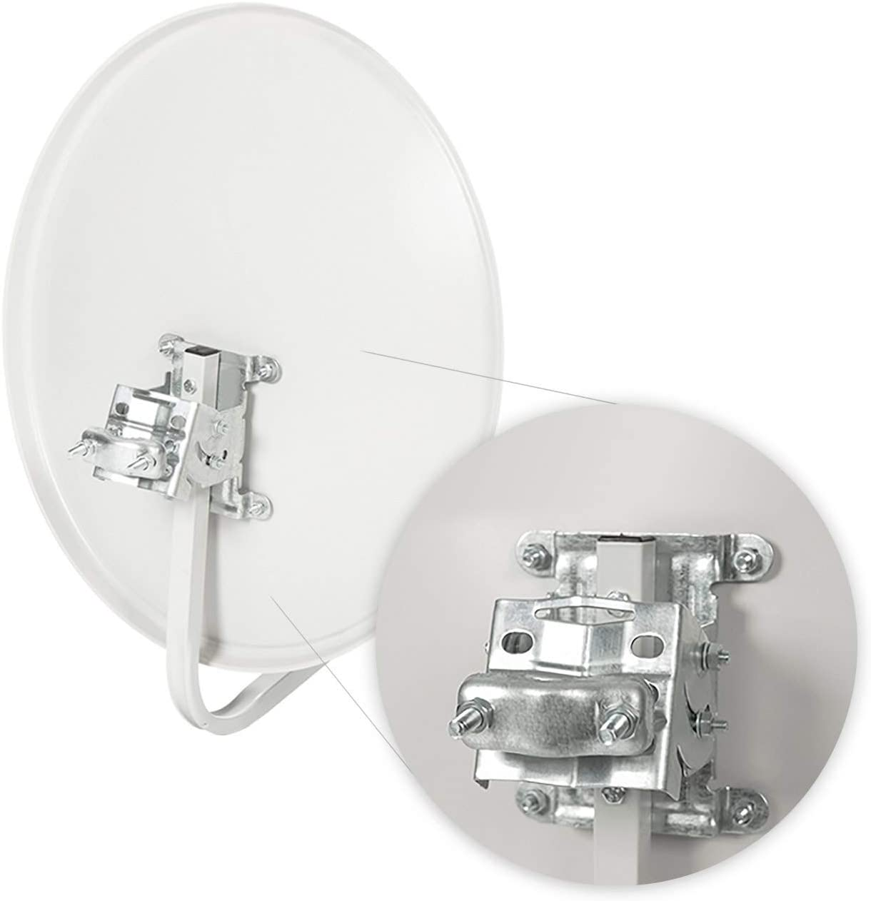 Diesl K0050L Kit Antena Parabólica 50cm con LNB