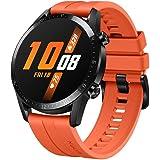 Huawei Watch GT 2(46mm), 2 Weeks Battery Life, Bluetooth Calling, Sport Edition (Orange)