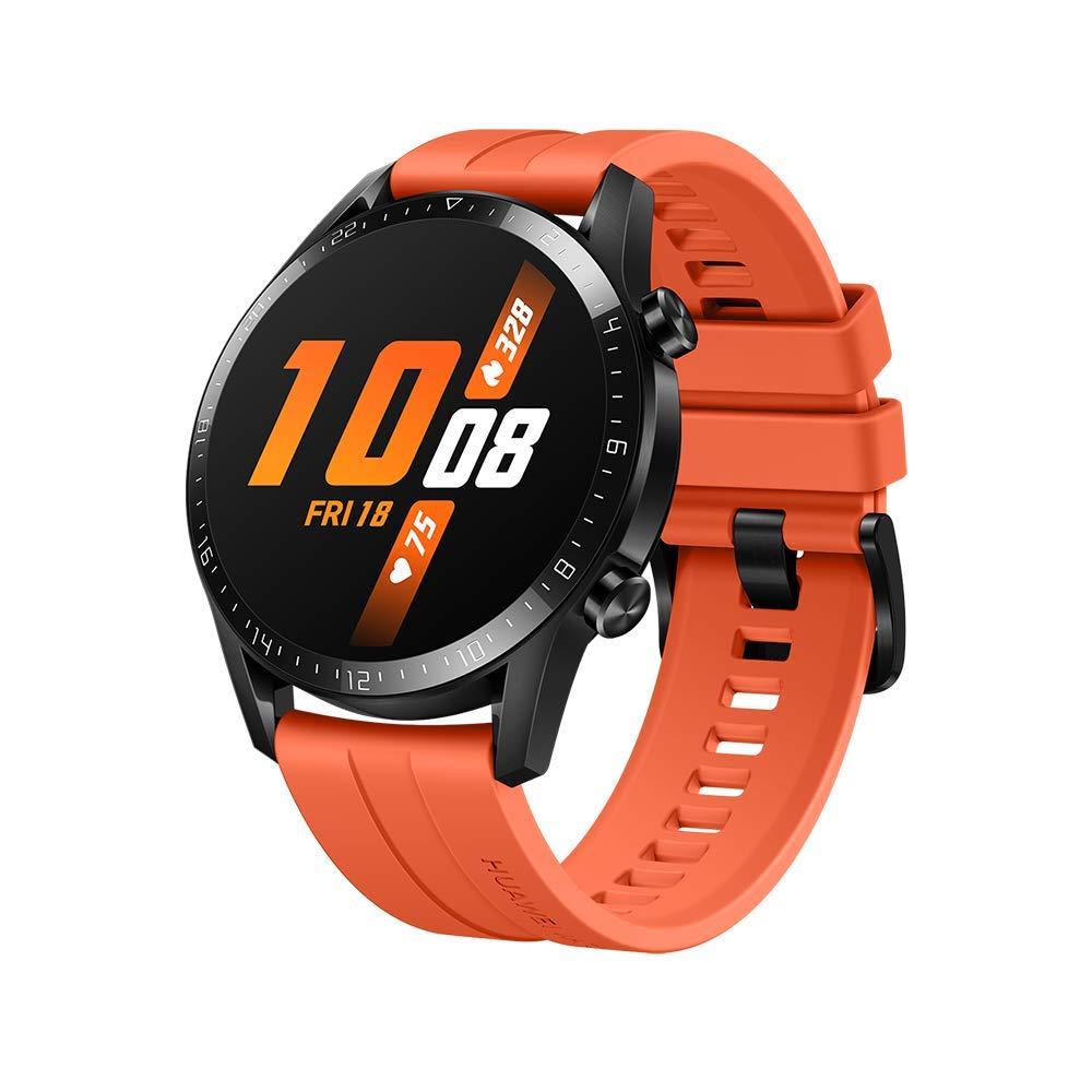 Huawei Watch GT 2(46mm), 2 Weeks Battery Life, Bluetooth Calling, Sport Edition (Orange) (B07YGJJFBK) Amazon Price History, Amazon Price Tracker