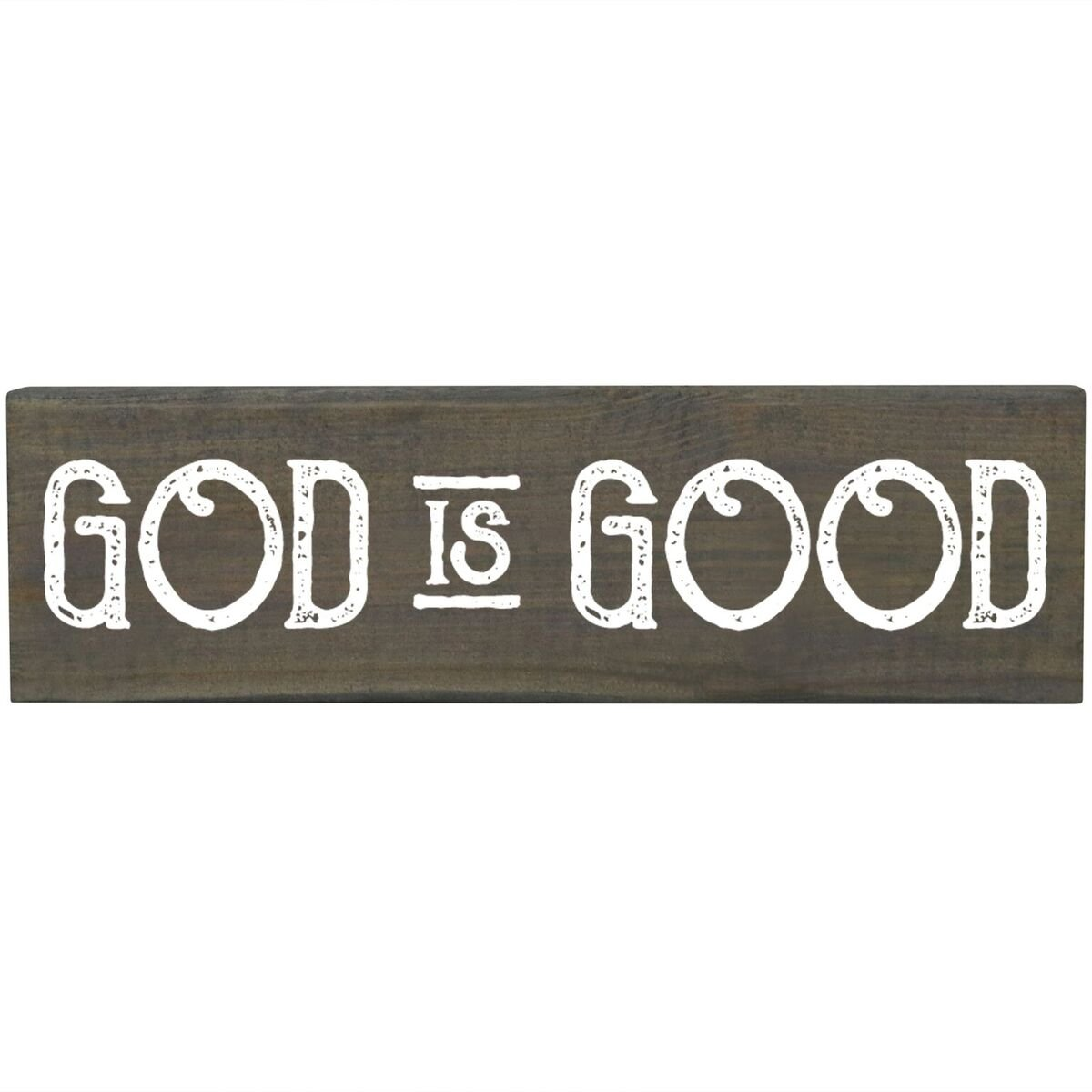 Amazon God Is Good Inspirational Pine Block Inspirational