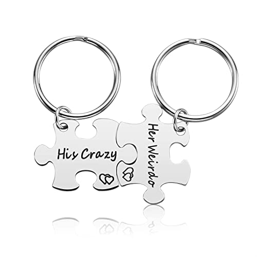 Valentines Keychains For Him Amazon Com