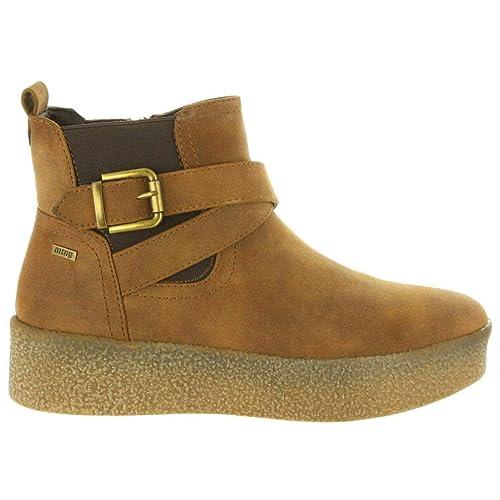 Botines de Mujer MTNG 50763 C23818 Frozen Moka: Amazon.es: Zapatos y complementos