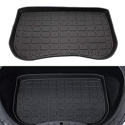BASENOR Tesla Model 3 Cargo Mat All-Protection Heavy Duty Front Trunk Liner: Automotive