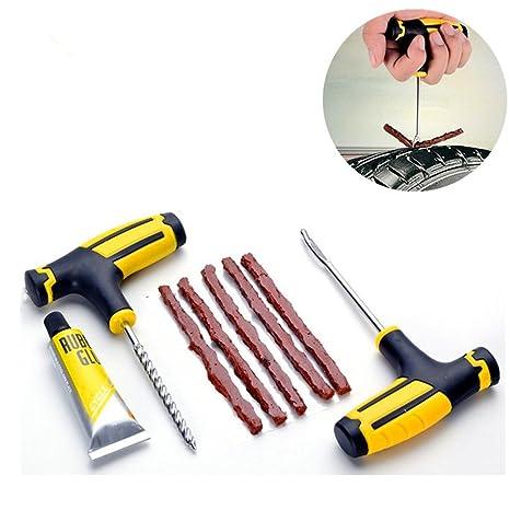 super popolare 04695 db4b9 1 set professionale di strumenti di riparazione per pneumatici per auto,  moto, bicicletta, kit di riparazione pneumatici