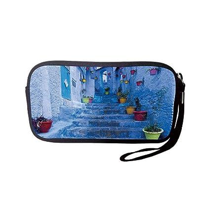 3b7afb48e541 Amazon.com  Neoprene Wristlet Wallet Bag