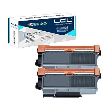 LCL(TM) TN2220 TN2210 TN-2220 TN-2210 2600 Páginas (2-Pack Negro ...